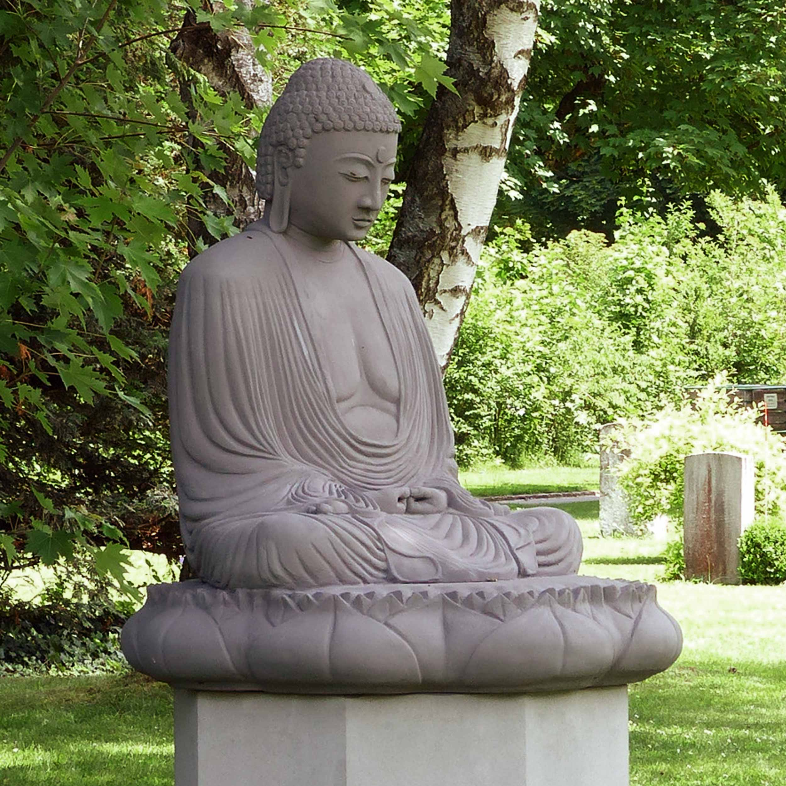 Buddha-Garten-Bremgartenfriedhof